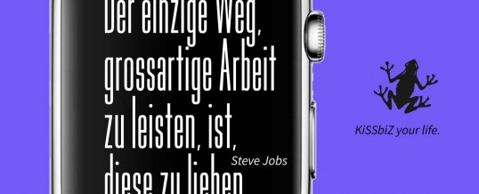 Steve Jobs Erkenntnis zum Erfolg